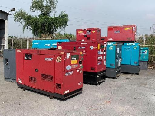 Máy phát điện 75 kva 3 pha chạy dầu