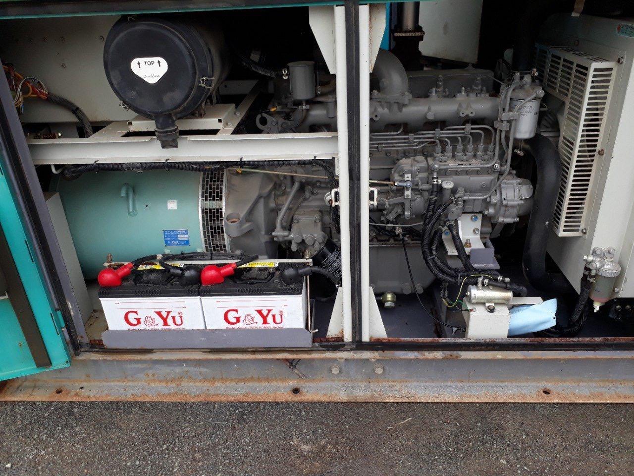 Máy phát điện 75kva nhập khẩu
