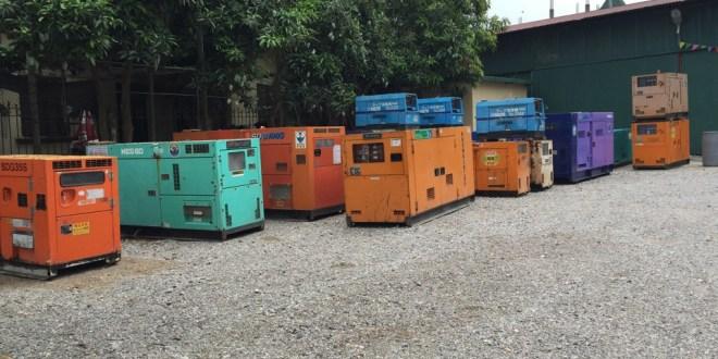 Máy phát điện Hino nhập khẩu