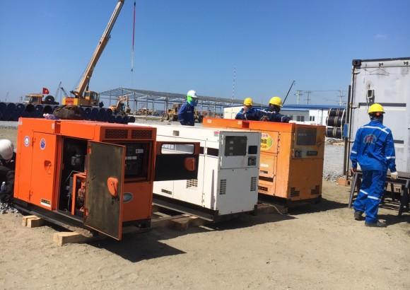 bảo trì sửa chữa máy phát điện tại bình dương