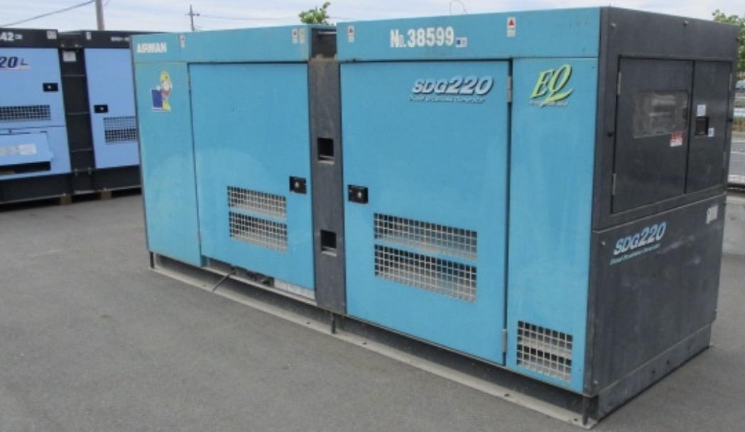 cho thuê máy phát điện 150kw