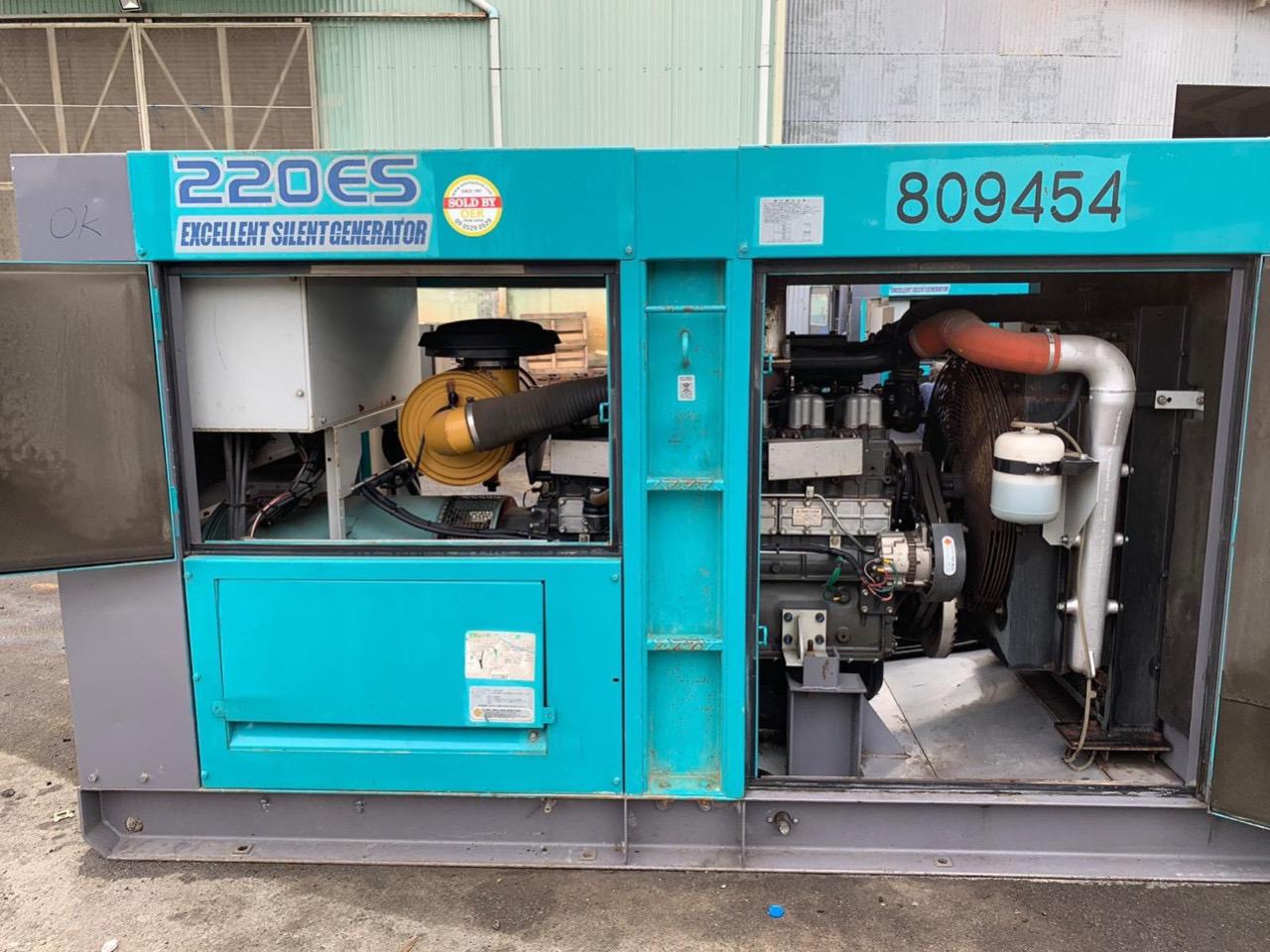 Máy phát điện 200 kva cũ nhập khẩu