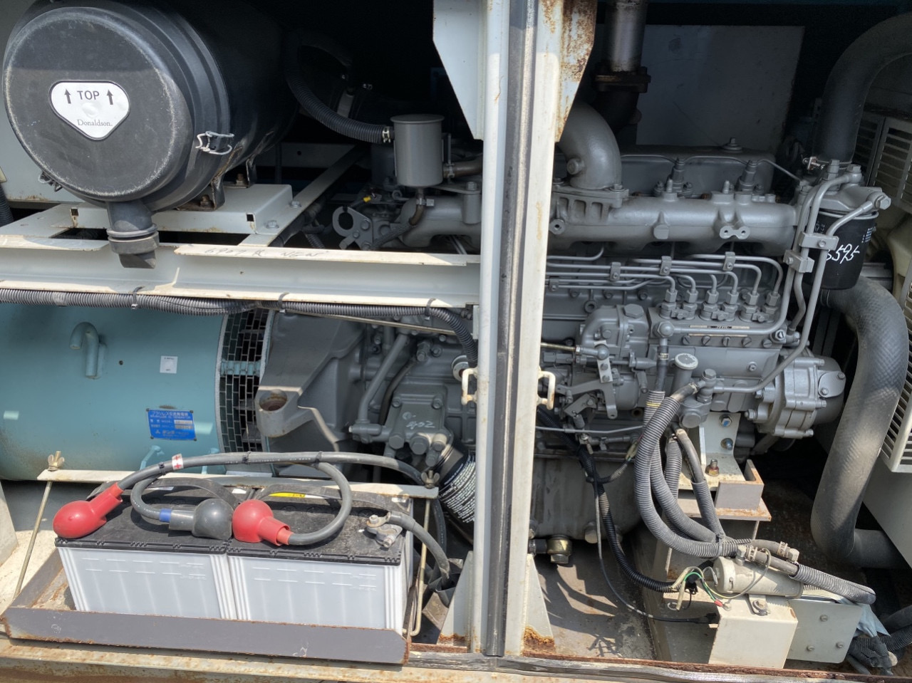 máy phát điện 60kva nhập khẩu