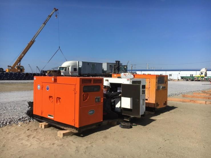 thuê máy phát điện dự án sân bay long thành